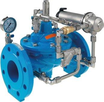 Ventil za smanjenje tlaka s nepovratnom funkcijom